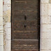 20170715_07 Old brown door in Old Town, Antibes, France