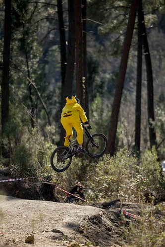 Pikachu is a rider