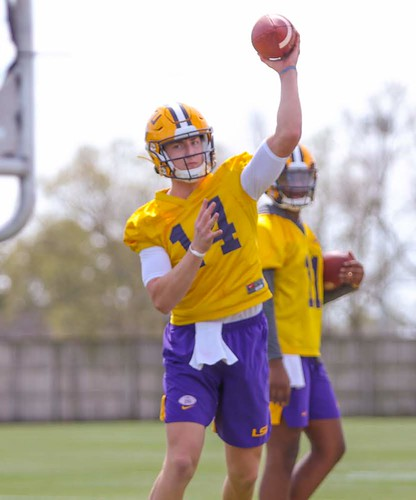 LSU spring practice by Terrill Weil (5)