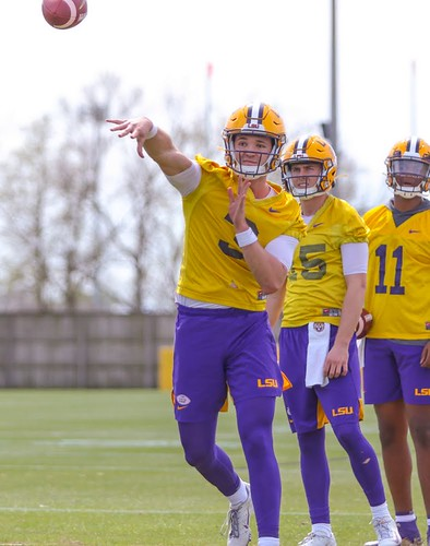 LSU spring practice by Terrill Weil (6)