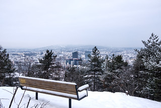 Oslo at winter / Ekebergparken