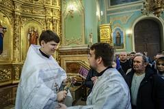 09 марта 2020, Митрополит Кирилл совершил хиротонии студентов семинарии