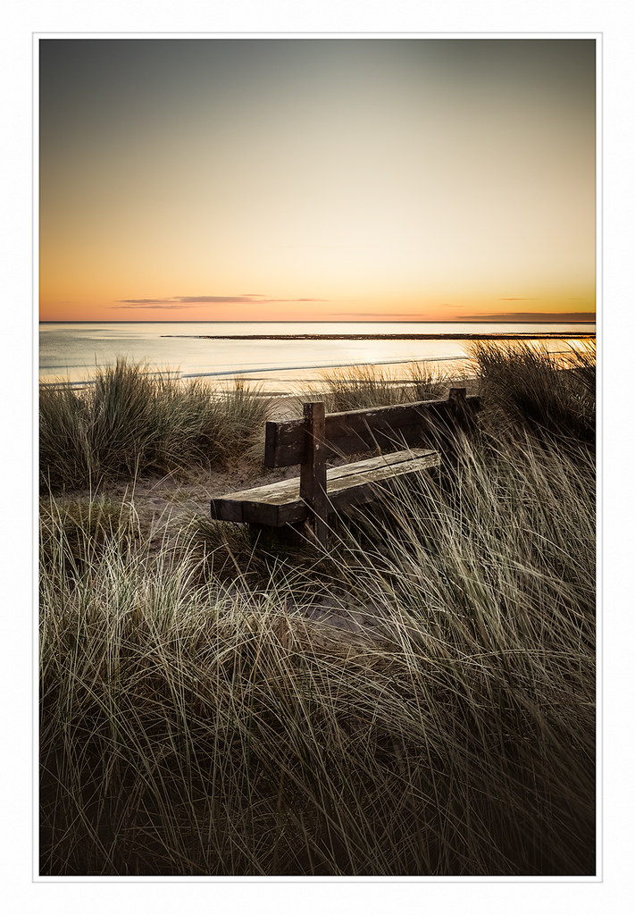 A great place to sit. Cresswell, Northumberland.