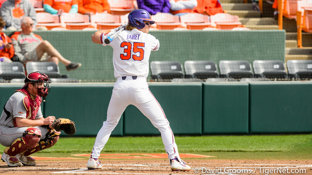 Clemson Photos: Chad  Fairey, 2020, Baseball, Boston  College