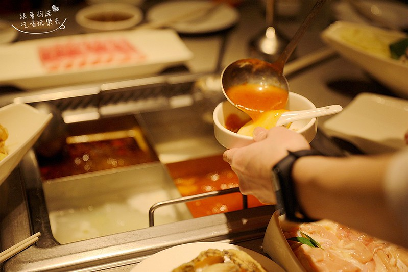台北海底撈火鍋299元商業午餐宵夜單人套餐086
