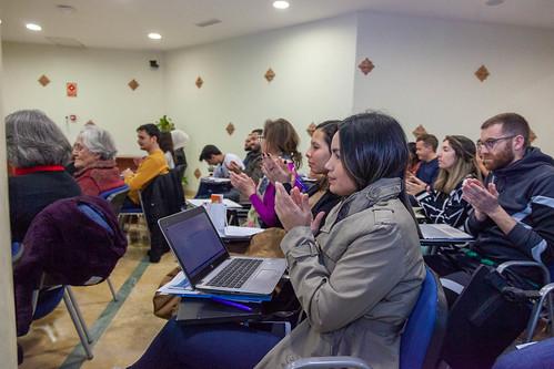 """Debates en torno al Mediterráneo. Sesión sobre empoderamiento de la mujer. • <a style=""""font-size:0.8em;"""" href=""""http://www.flickr.com/photos/124554574@N06/49639635997/"""" target=""""_blank"""">View on Flickr</a>"""