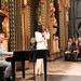 Alexandra Burke performing at the Commonwealth Day service
