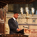 Heavyweight Champion Anthony Joshua delivers the reflection at the Commonwealth Day service