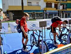 Campeonato de Europa de Duatlón 11 Punta Umbría team clavería Nacho Gálvez campeón Junior