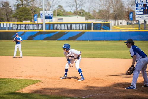 Varsity Baseball vs Cumberland Academy 2-29-2020