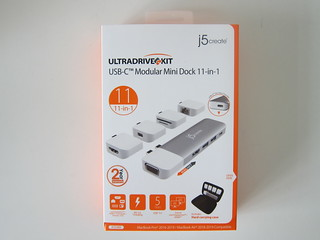 j5create UltraDrive Kit USB-C Multi-Display Modular Dock (JCD389)