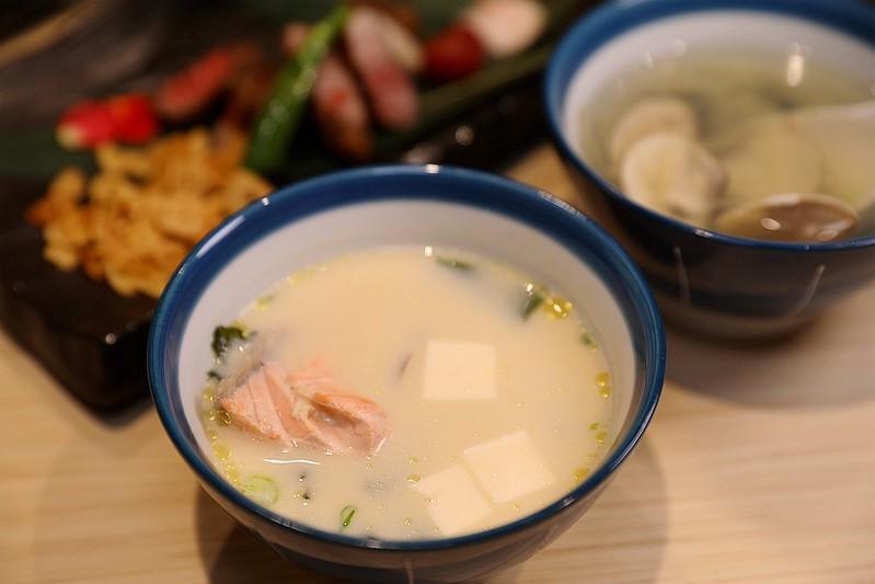 歐買尬日式海鮮串燒台北松山區日式料理推薦金箔壽司198