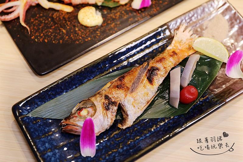歐買尬日式海鮮串燒台北松山區日式料理推薦金箔壽司104