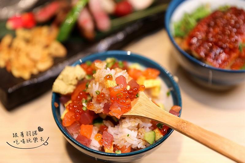 歐買尬日式海鮮串燒台北松山區日式料理推薦金箔壽司178