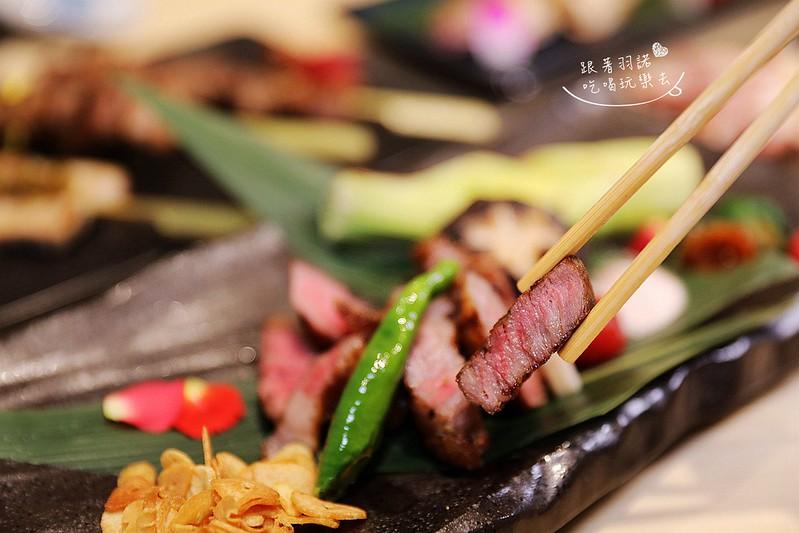 歐買尬日式海鮮串燒台北松山區日式料理推薦金箔壽司142