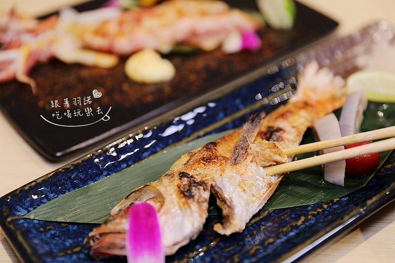 歐買尬日式海鮮串燒台北松山區日式料理推薦金箔壽司107