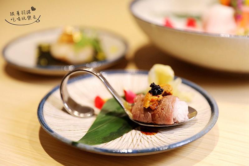 歐買尬日式海鮮串燒台北松山區日式料理推薦金箔壽司045
