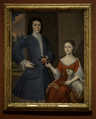 Gerardus Duyckinck I (attributed),  six portraits of the Levy-Franks family