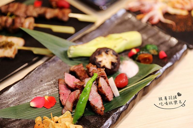 歐買尬日式海鮮串燒台北松山區日式料理推薦金箔壽司130