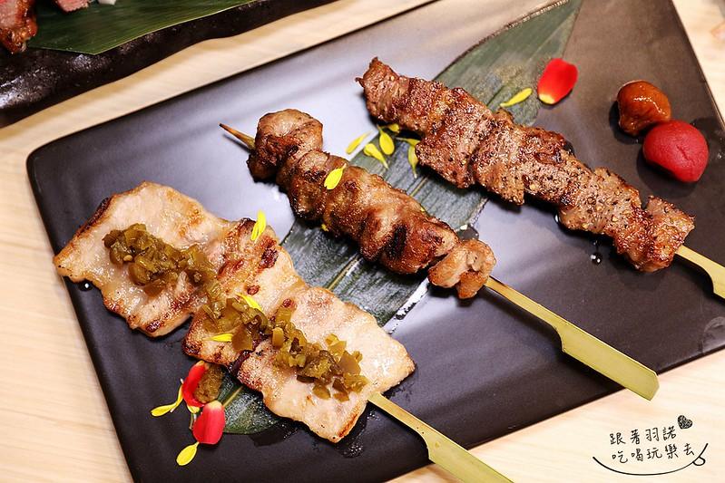 歐買尬日式海鮮串燒台北松山區日式料理推薦金箔壽司129