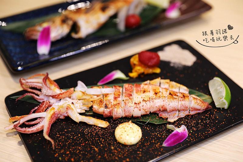 歐買尬日式海鮮串燒台北松山區日式料理推薦金箔壽司093