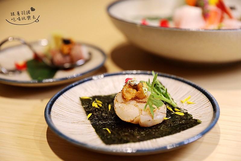歐買尬日式海鮮串燒台北松山區日式料理推薦金箔壽司052