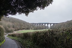 Photo of Composition - Putting what I've read into practice: Porthkerry Viaduct, Barry, south Wales