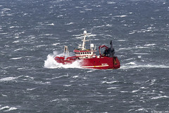 Photo of The Banff registered twin-rig trawler Norlan, BF 362; Moray Firth, Scotland