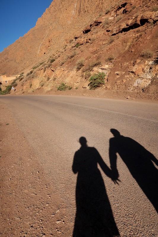 Dades Gorge, Morocco, Africa (Camping at Berbere de la Montagne)