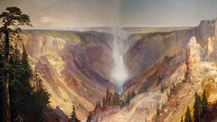 Thomas Moran, Grand Canyon of the Yellowstone (detail)