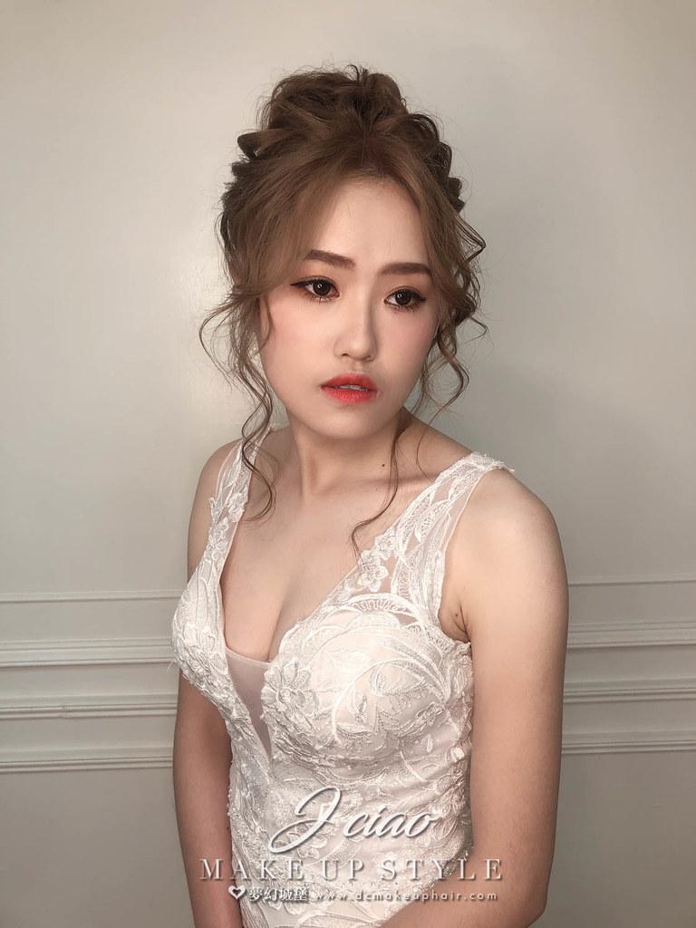 【新秘婕喬】新娘造型創作 / 空靈系造型