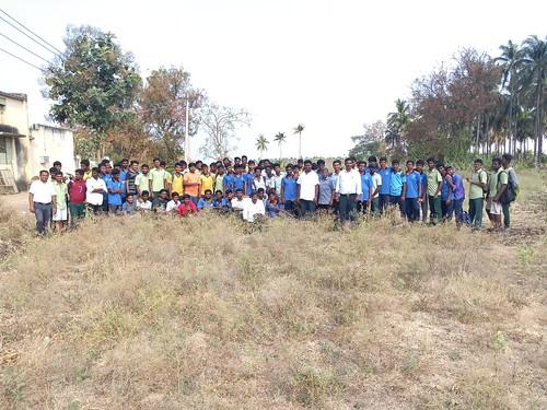 RKMVERI-FAR Crop production - Paddy harvesting(121)