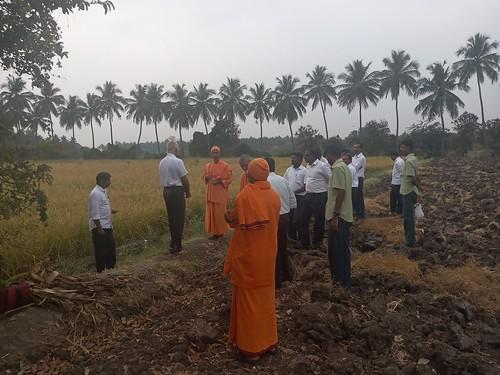 RKMVERI-FAR Crop production - Paddy harvesting(106)