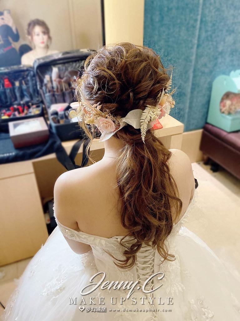 【新秘蓁妮】bride 羿絜 宴客造型 / 日系仙女風