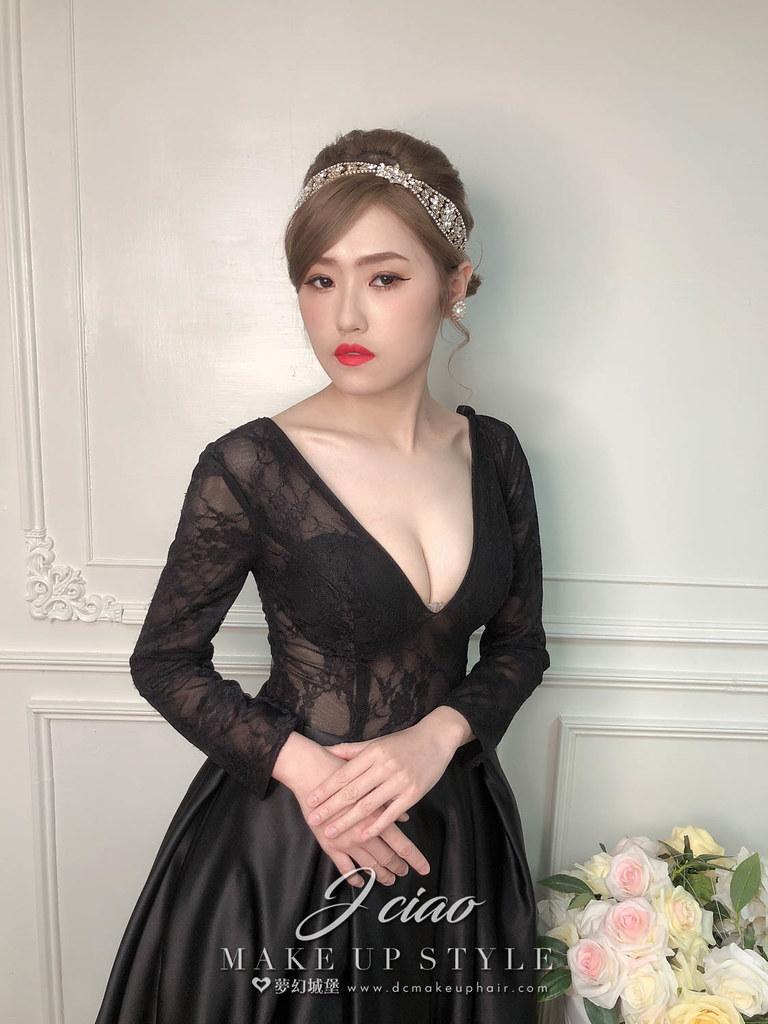【新秘婕喬】新娘造型創作 /宮廷式造型