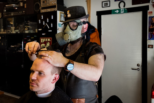 """Better safe than sorry says Rolf our local barber • <a style=""""font-size:0.8em;"""" href=""""http://www.flickr.com/photos/22350928@N02/49646801956/"""" target=""""_blank"""">View on Flickr</a>"""
