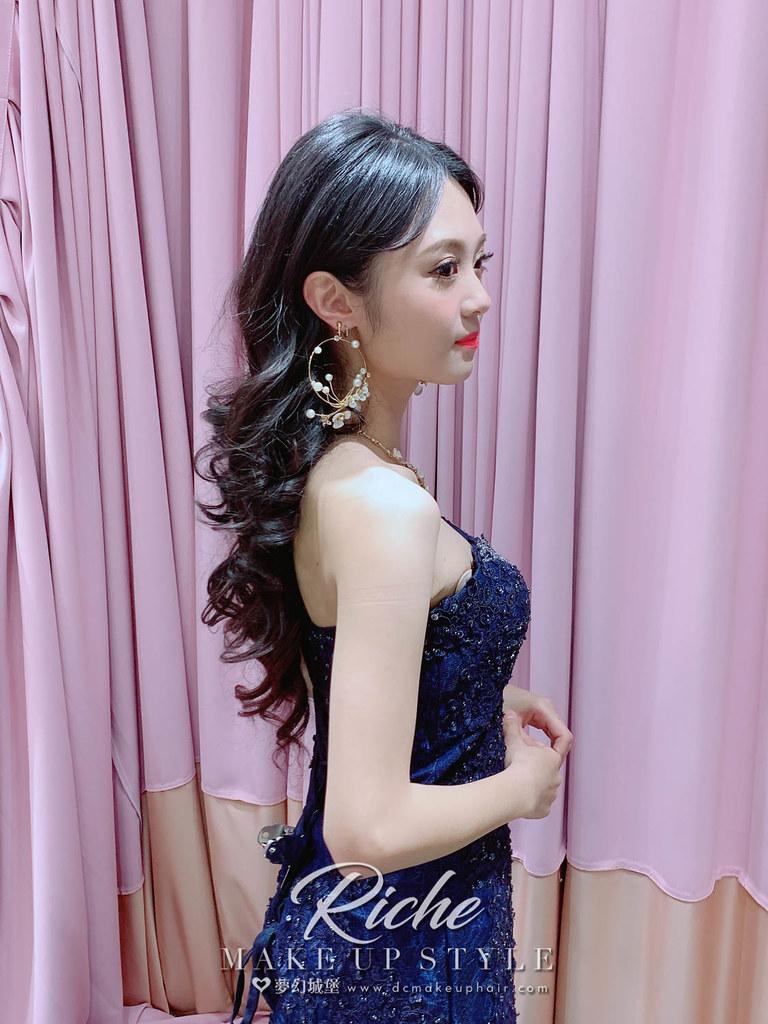 【新秘RICHE】新娘造型創作 /浪漫名媛風