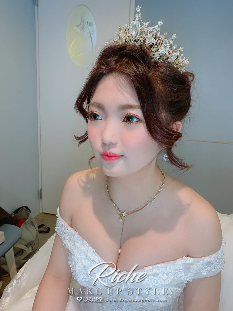 【新秘RICHE】bride宇婷 結婚造型 / 華麗公主