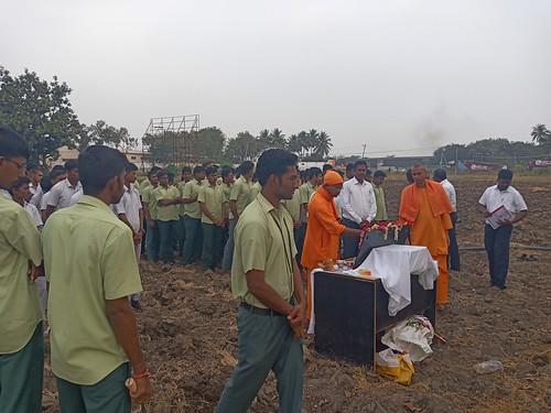 RKMVERI-FAR Crop production - Paddy harvesting(103)