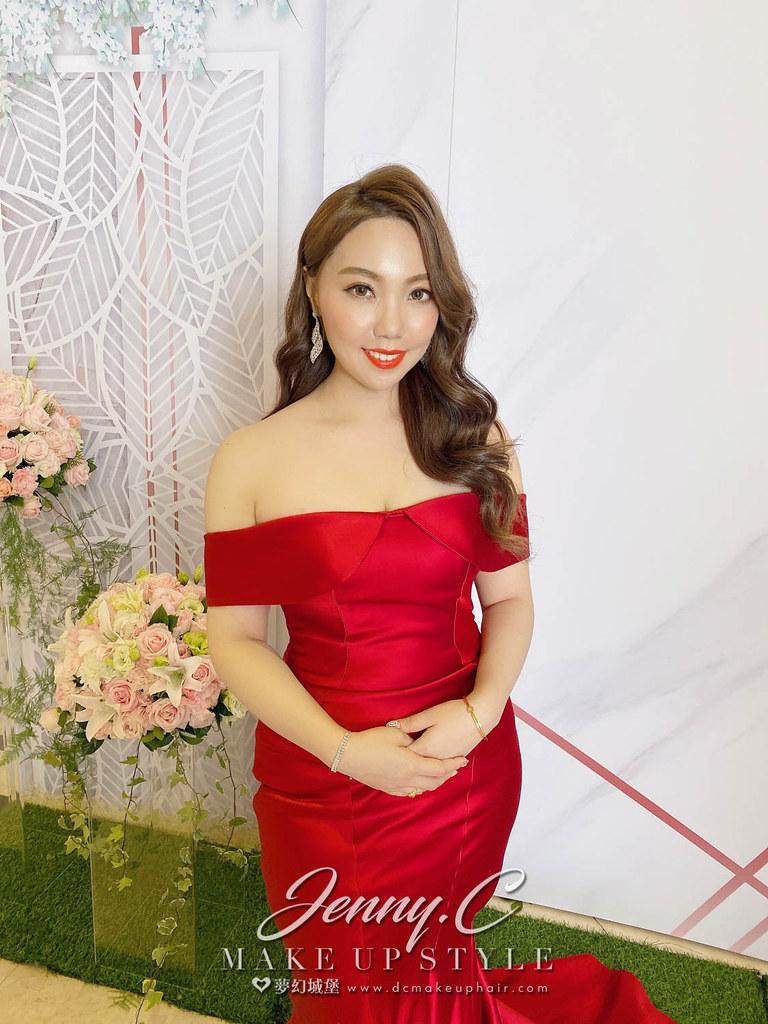 【新秘蓁妮】bride 小米 訂結婚造型 / 龍鳳掛,華麗公主