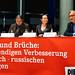 10.03.2020 Brücken und Brüche, Podiumsdiskussion zur deutsch-russischen Beziehung; Berlin