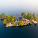 Small Island with Cottage