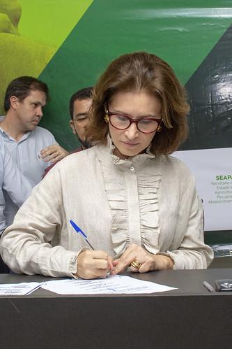 Vanuza Valadares, presidente do Ceasa