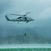 U.S. Marines host a mishap drill exercise with Sailors using the MH-60R