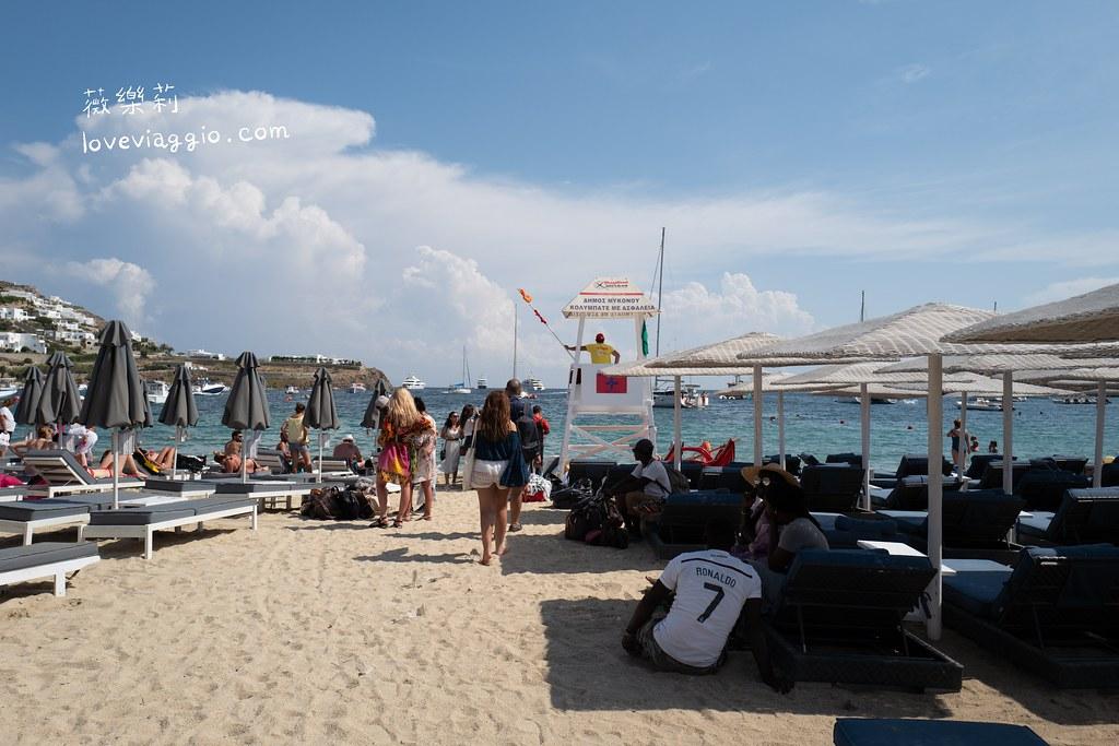 【希臘米克諾斯 Mykonos】免去人擠人的天堂海灘 Ornos免費無人淺海灘玩水 @薇樂莉 Love Viaggio | 旅行.生活.攝影