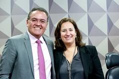 11-03-20 Senador Roberto Rocha preside a  Comissão Mista da Reforma Tributária que recebeu a professora Rita de La Feria - Foto Gerdan Wesley (3)