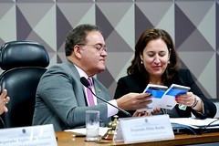 11-03-20 Senador Roberto Rocha preside a  Comissão Mista da Reforma Tributária que recebeu a professora Rita de La Feria - Foto Gerdan Wesley (1)