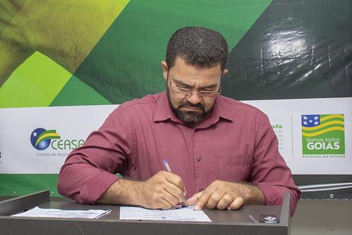 Carlos Garcia, presidente do Sindicato Rural de Porangatu