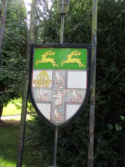 Photo of Today i went to say farewell to a Good friend which was quite sad, but i saw this coat of arms on the gates of sutton crem, any ideas what it is.
