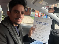 Massive congratulations to Rodrigo Ferreira passing on his first attempt!   www.leosdrivingschool.com  WARNING: Getting your license is a good achievement however being a SAFE driver for life is the biggest achievement!